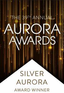 39th Annual Aurora Awards Silver Auraro Award Winner