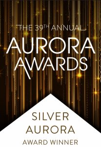 39th Annual Aurora Awards Silver Auraro Award Winner