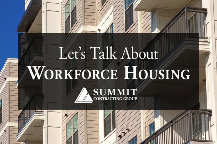 Let's Talk About Workforce Housing graphic for Summit article