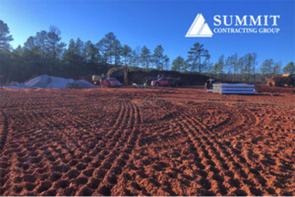 Photo of Construction site for Summit Contracting Group