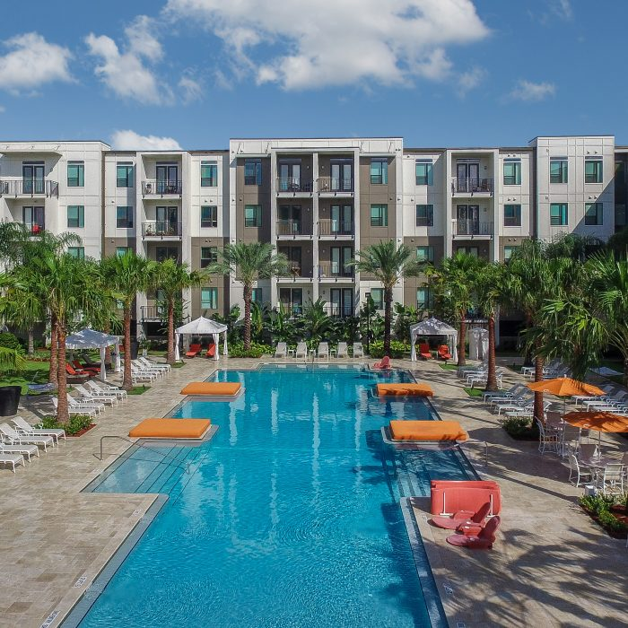 Market Rate Apartments in Florida with pool area