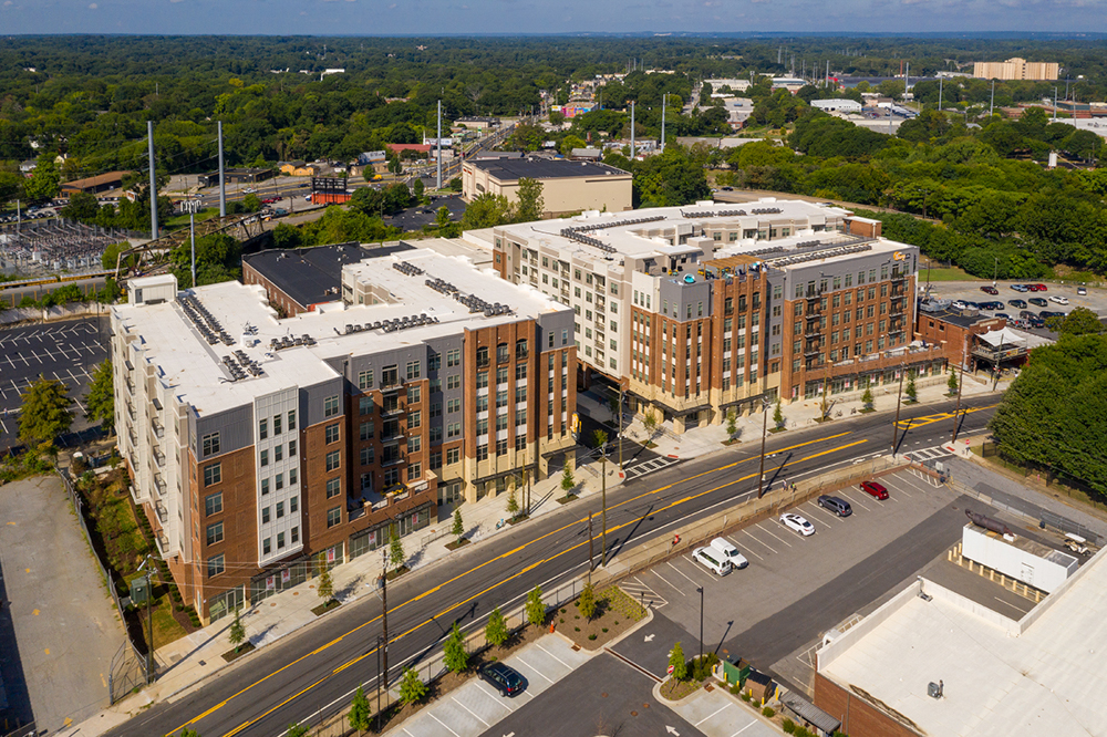Theory West Midtown Multifamily Project by Summit Contracting Group