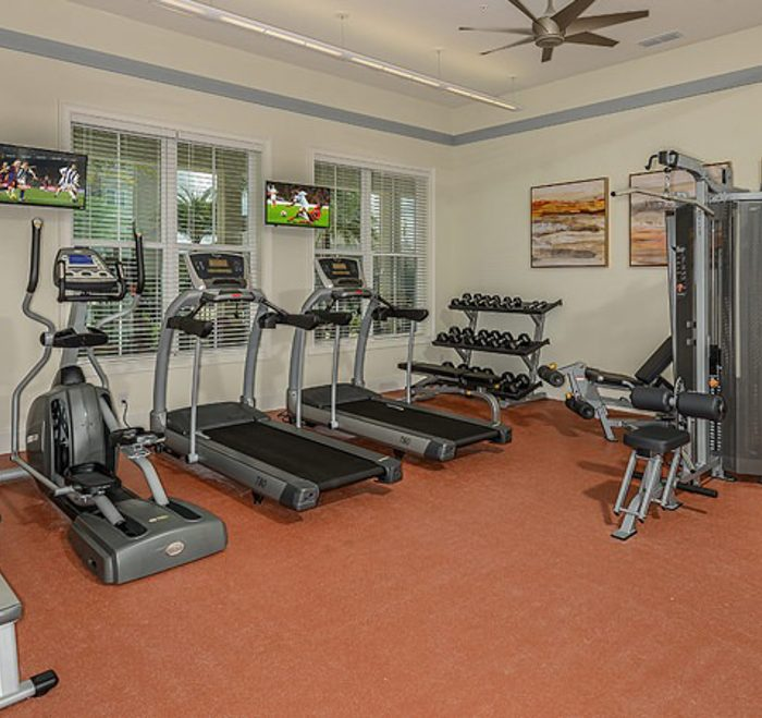 Monterey Pointe Market Rate Senior Living Apartments Fitness Center
