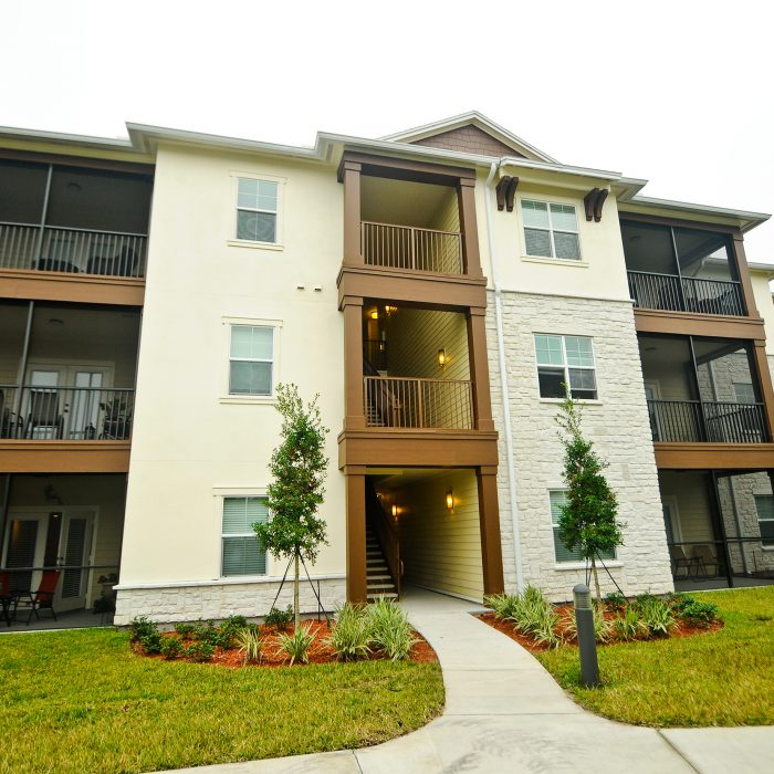 Cabana Club multi story apartment complex