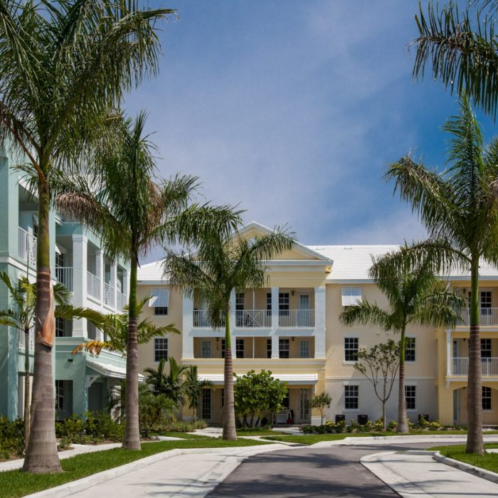 Jupiter FL multi story apartment complex