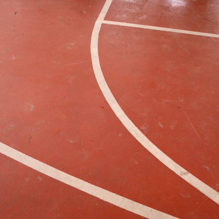 Basketball court at Boys & Girls Club Project by Summit Contracting Group