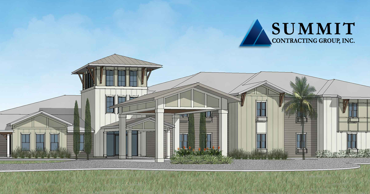 Rendering of The Canopy on Berryhill Senior Living