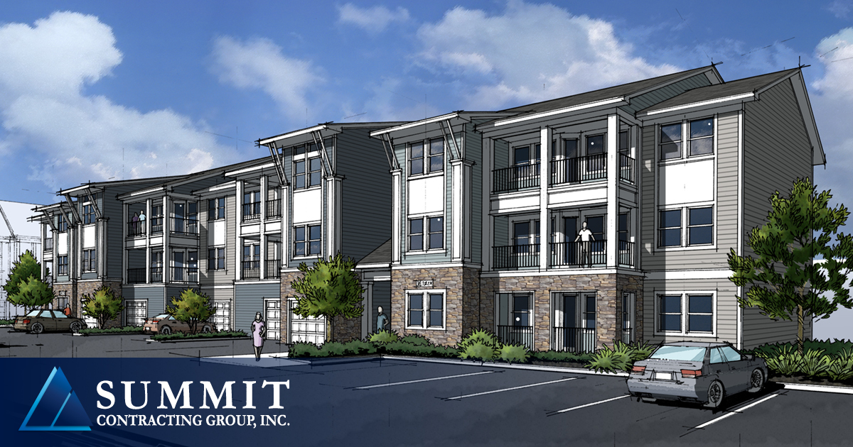 500 East Apartments Multifamily Development Summit Contracting Group 2018