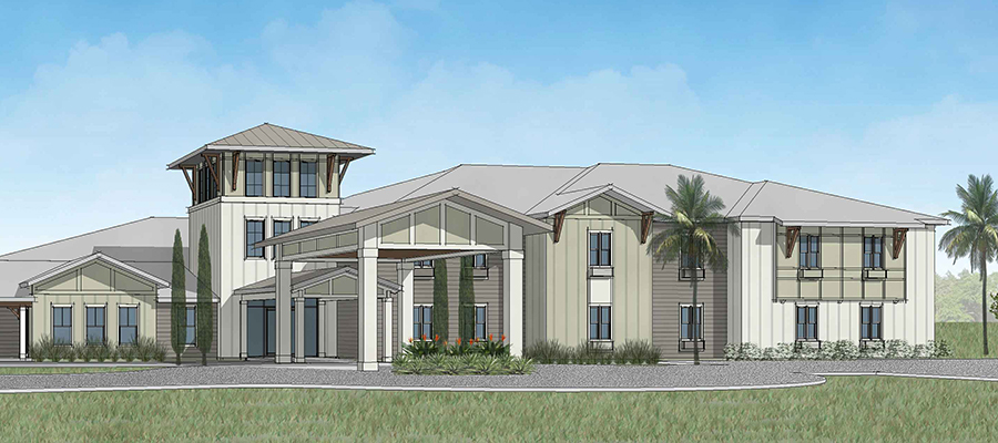 Canopy at Azalea Grove assisted living Summit construction