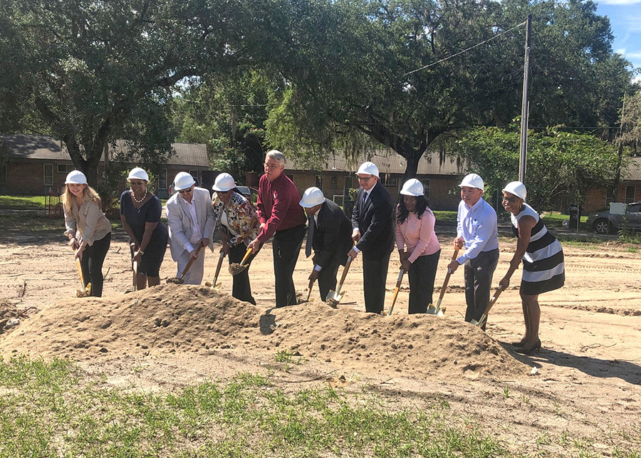 Woodland Park Multifamily Groundbreaking Construction from Summit Contracting Group