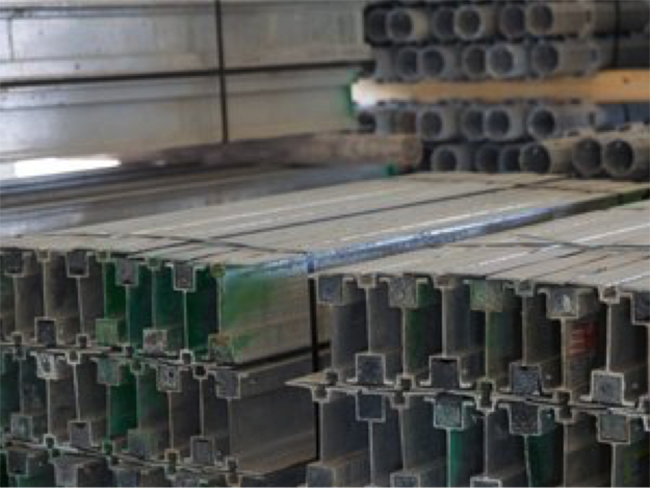Metal construction materials related to Market Watch 2019 from Summit Construction Group