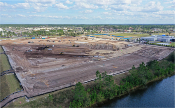 Construction Site of Reserve at Oakleaf by Summit