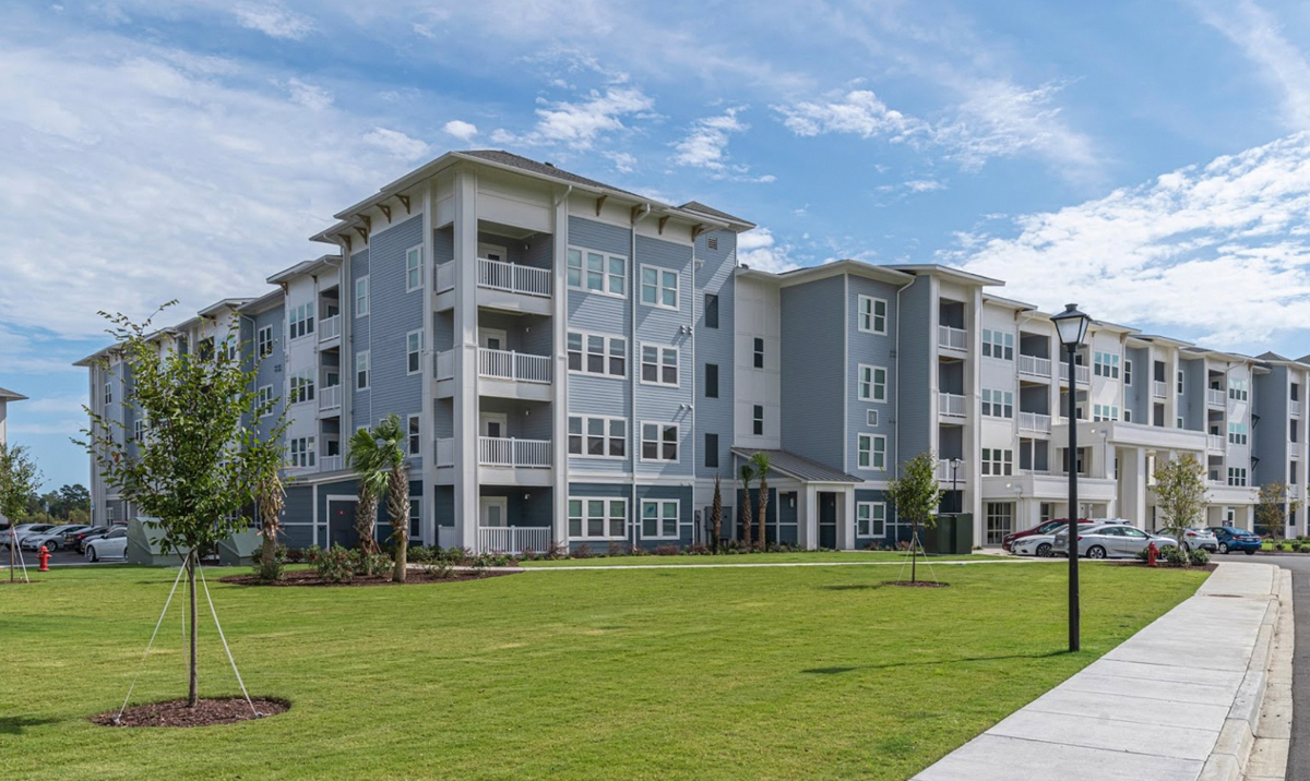 4 Story apartment building at Mosby Carolina Forest
