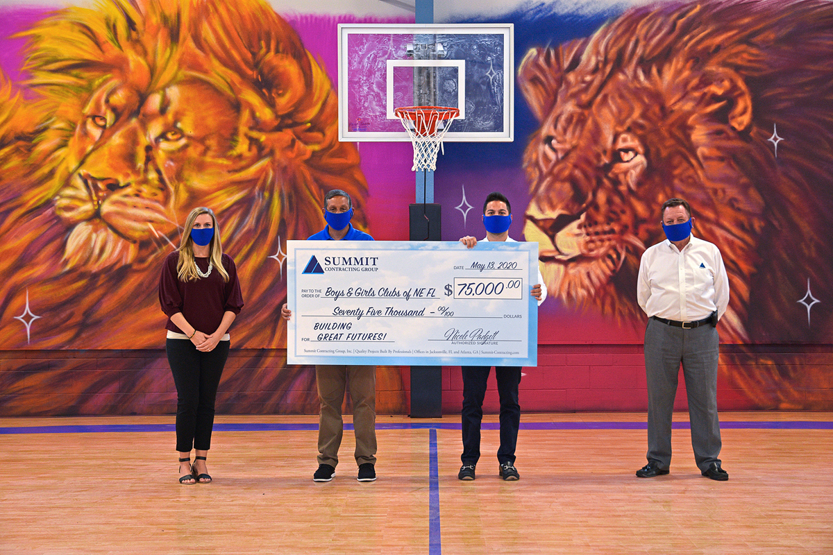 check presentation in gymnasium