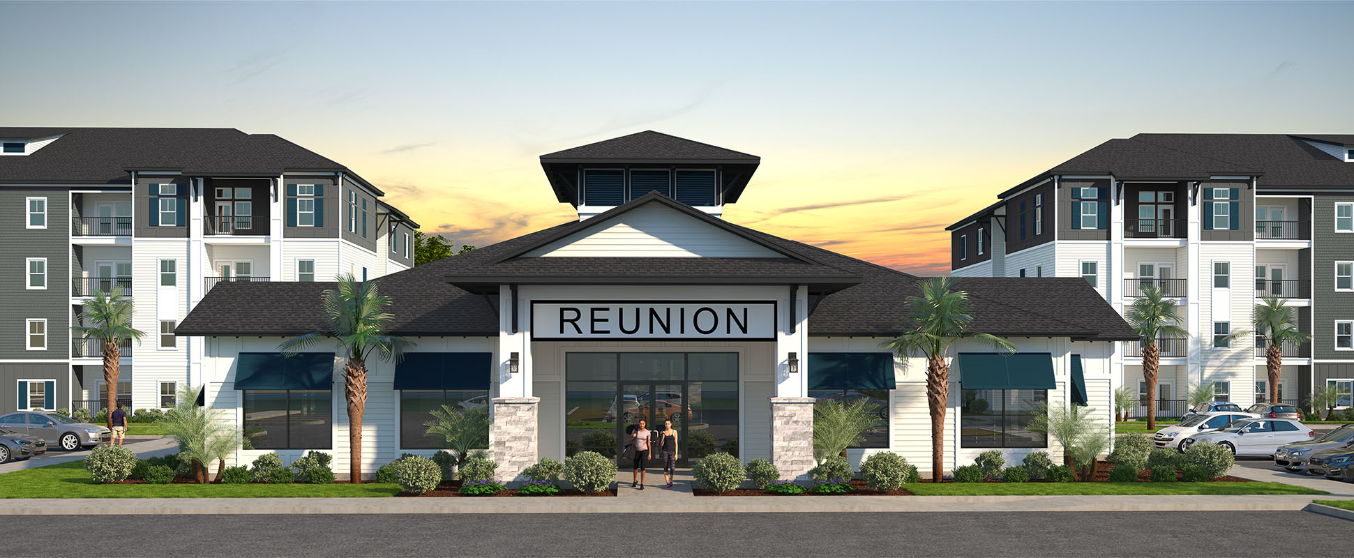 architect's rendering of Reunion apartments in Davenport Florida
