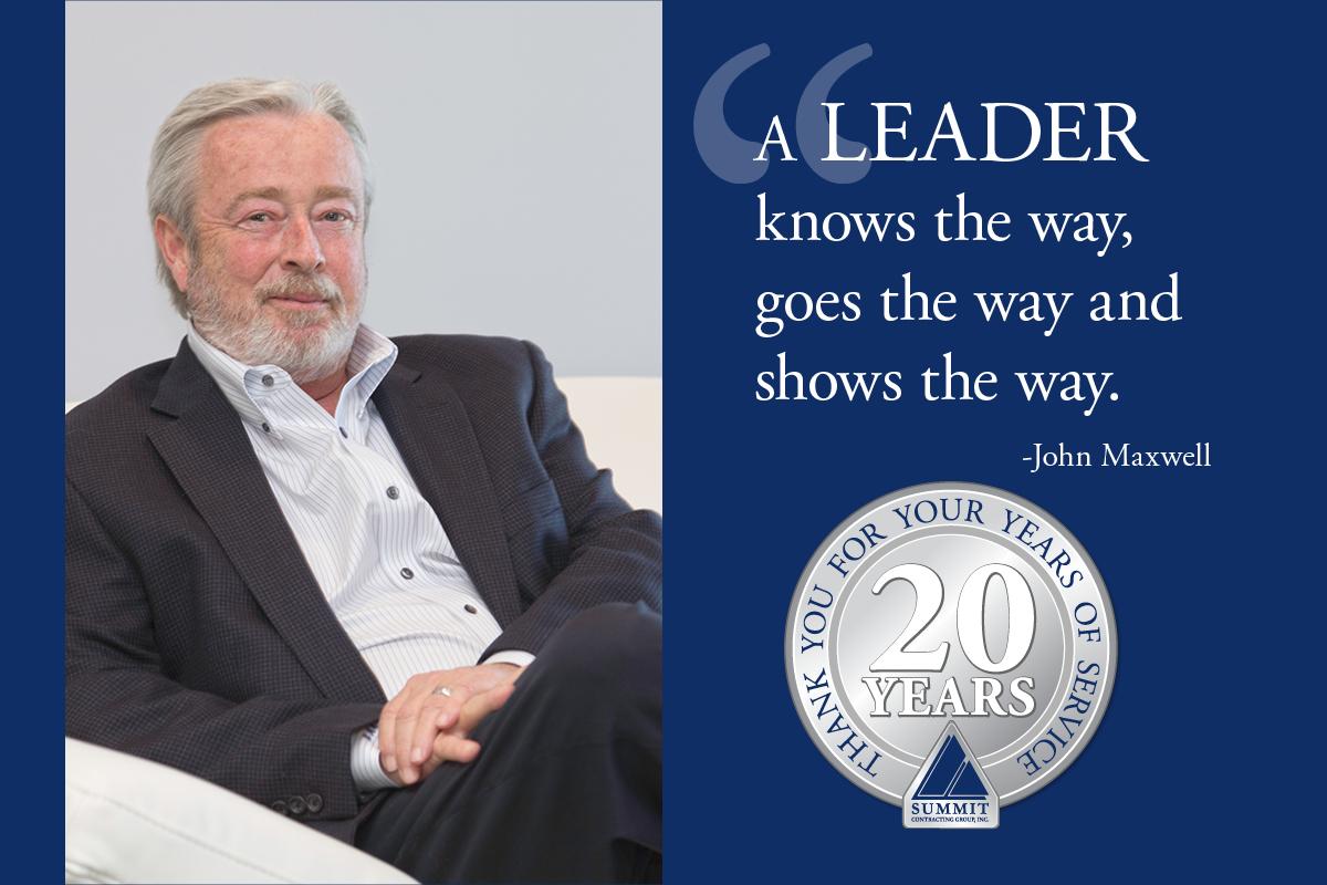 Bernie Cornelius celebrates 20 year milestone with Summit