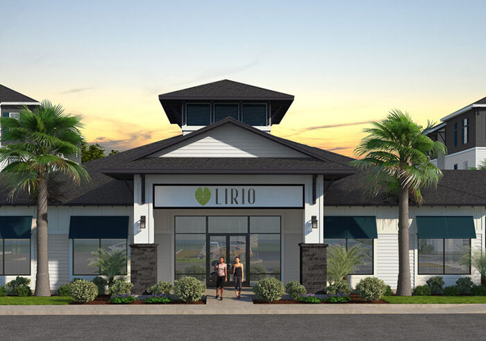 rendering of Lirio clubhouse