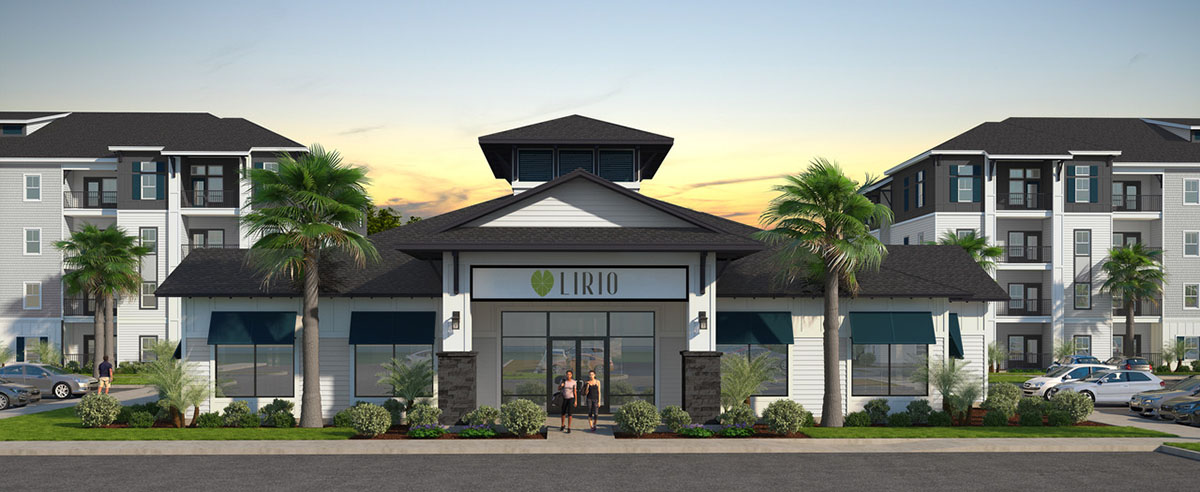 rendering of Lirio clubhouse