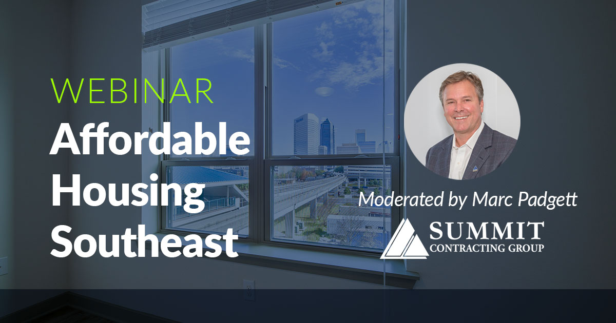 Affordable Housing Southeast Webinar