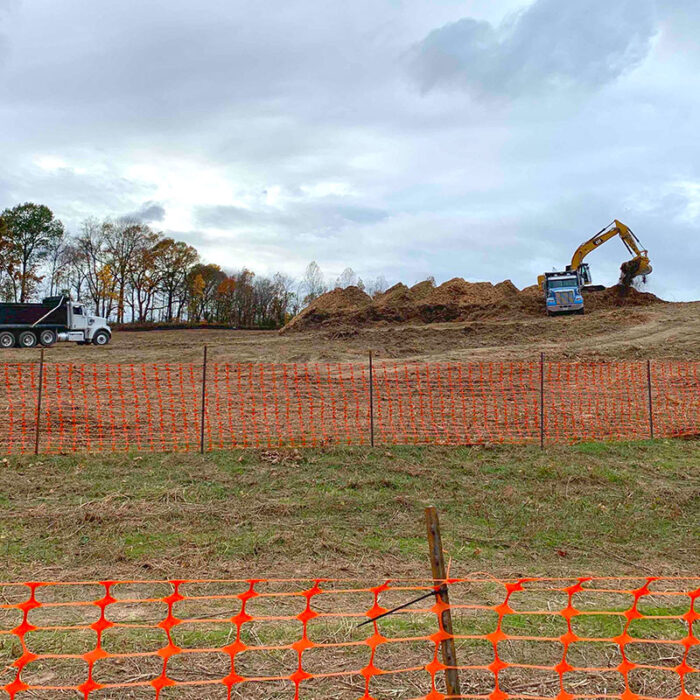 site work at Northtown Gardens in Tennessee