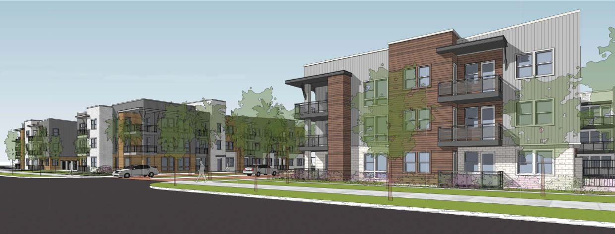 architect rendering of Residences at SweetBay