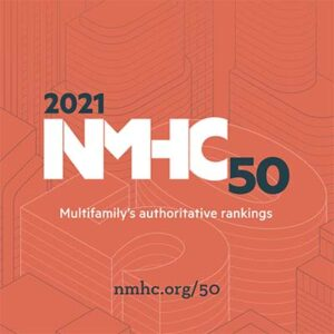 NMHC builders list graphic for 2021